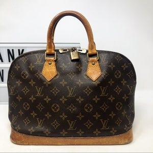 Louis Vuitton Alma PM Monogram top handle bag